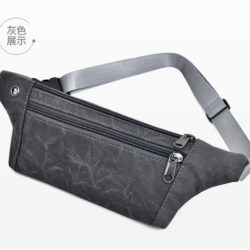 JTF0985-gray Waist Bag Unisex Fashion Modis Terbaru