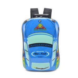 JTF1010-bluecar Tas Telur Ransel Anak Unisex Import