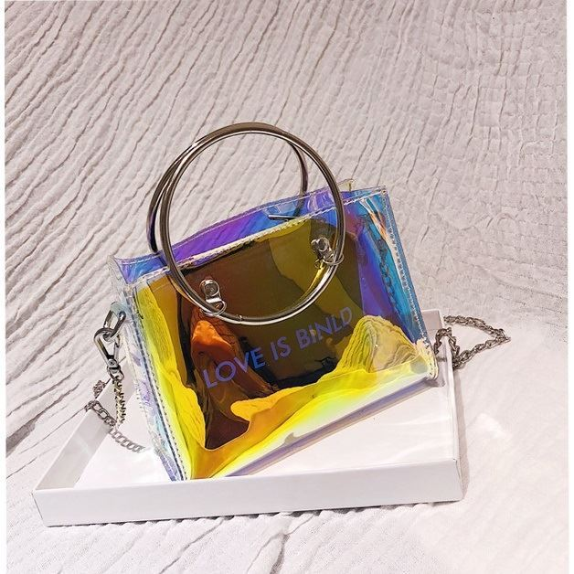 JTF10239 (2IN1) IDR.29.000 MATERIAL PU+TRANSPARENT SIZE L17XH12XW7CM WEIGHT 250GR COLOR LASERBLACK