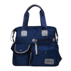 JTF103 IDR.70.000 MATERIAL NYLON SIZE L34X30XW13CM WEIGHT 650GR COLOR BLUE