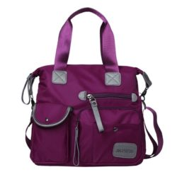 JTF103 IDR.70.000 MATERIAL NYLON SIZE L34X30XW13CM WEIGHT 650GR COLOR PURPLE