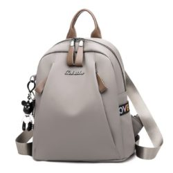 JTF1047 IDR.65.000  MATERIAL NYLON SIZE L25XH30XW15CM WEIGHT 450GR COLOR GRAY
