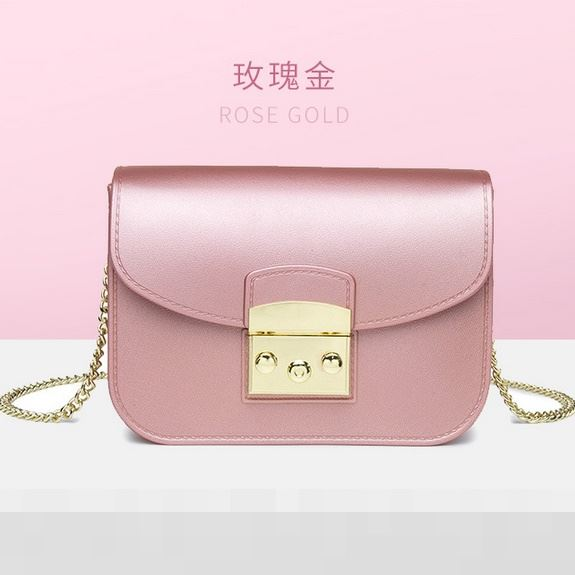 JTF1070 IDR.59.000 MATERIAL JELLY SIZE L18.5XH14XW8CM WEIGHT 630GR COLOR PINKGOLD