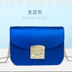 JTF1070-blue Tas Selempang Jelly Import Terbaru