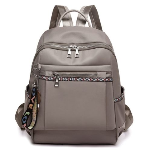 JTF1079 IDR.80.000 MATERIAL OXFORD SIZE L26XH34XW13CM WEIGHT 400GR COLOR GRAY