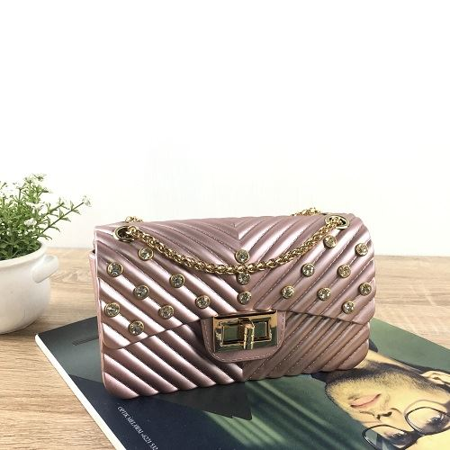 JTF10841 IDR.49.000 MATERIAL JELLY SIZE L17XH10XW7CM WEIGHT 450GR COLOR PINKGOLD
