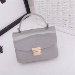 JTF1088-lightgray Tas Pesta Jelly Glossy Import Cantik