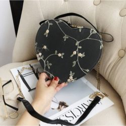 JTF1094-black Tas Selempang LOVE Stylish Import Terbaru
