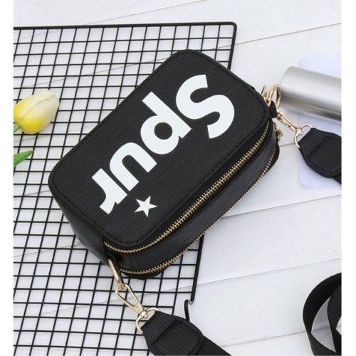 JTF1110-black Tas Slingbag Fashion Wanita Kekinian