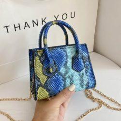 JTF1115-blue Tas Handbag Mini Wanita Elegan Import