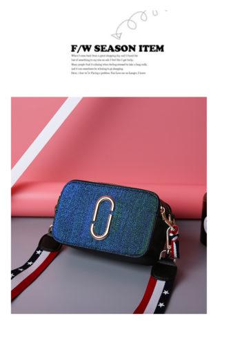 JTF1128-bluegreen Tas Snapshot Import Wanita Cantik