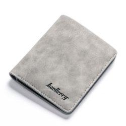 JTF1152V-gray Dompet Lipat BAELLERRY Pria Modis Terbaru