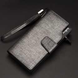 JTF119B-silver Dompet Panjang Pria BAELLERRY Import