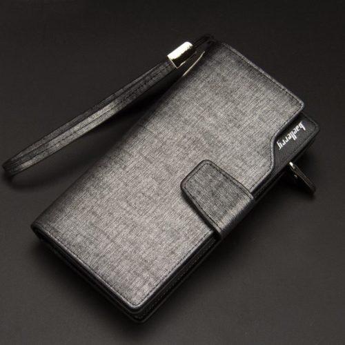 JTF119B-silver Dompet Panjang Pria BAELLERRY Import
