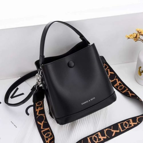 JTF12200-black Tas Handbag Selempang Fashion Import 2 Talpan