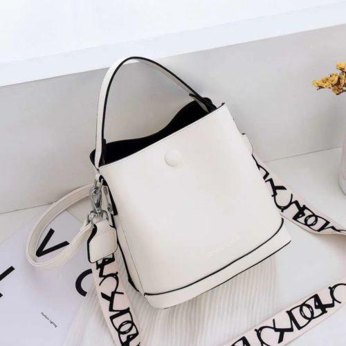 JTF12200-white Tas Handbag Selempang Fashion Import 2 Talpan