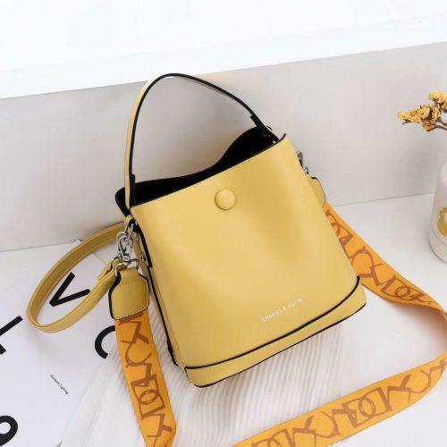 JTF12200-yellow Tas Handbag Selempang Fashion Import 2 Talpan