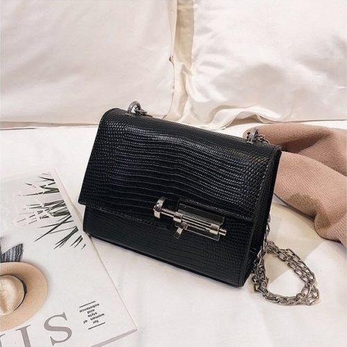 JTF123457-black Tas Selempang Clutch Wanita Cantik Import