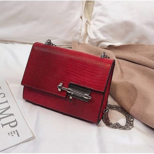 JTF123457-red Tas Selempang Clutch Wanita Cantik Import