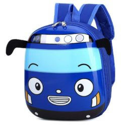 JTF12776-blue Tas Telur Ransel Anak Sekolah Imut Import