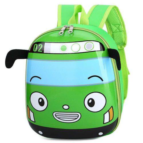 JTF12776-green Tas Telur Ransel Anak Sekolah Imut Import