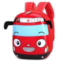JTF12776-red Tas Telur Ransel Anak Sekolah Imut Import