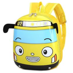 JTF12776-yellow Tas Telur Ransel Anak Sekolah Imut Import