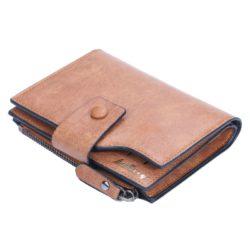 JTF1281-brown Dompet Panjang Pria Baellerry Terbaru