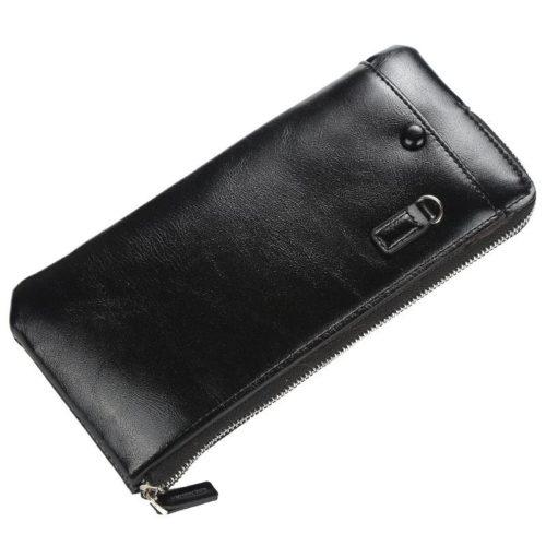 JTF1286-black Dompet Panjang Kulit Elegan Import