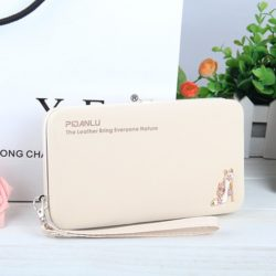 JTF1311-beige Dompet PIDANLU Fashion Import