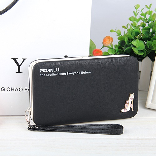 JTF1311 IDR.35.000 MATERIAL PU SIZE L18.5XH10.5XW2.8CM WEIGHT 250GR COLOR BLACK