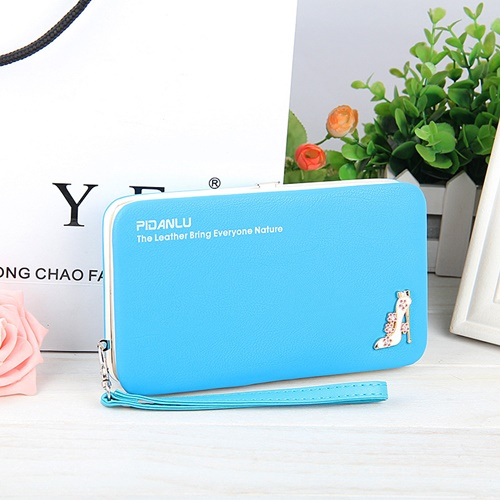 JTF1311 IDR.35.000 MATERIAL PU SIZE L18.5XH10.5XW2.8CM WEIGHT 250GR COLOR BLUE