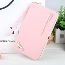 JTF1311-lightpink Dompet PIDANLU Fashion Import