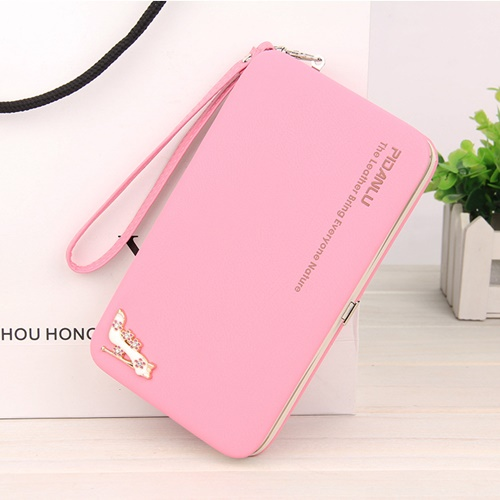 JTF1311-pink Dompet PIDANLU Fashion Import