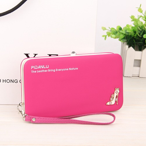 JTF1311 IDR.35.000 MATERIAL PU SIZE L18.5XH10.5XW2.8CM WEIGHT 250GR COLOR ROSE