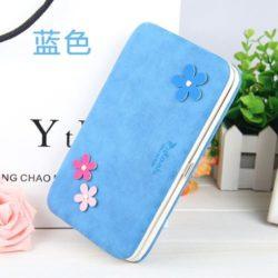 JTF1312-blue Dompet Panjang PIDANLU Cantik Lucu Terbaru