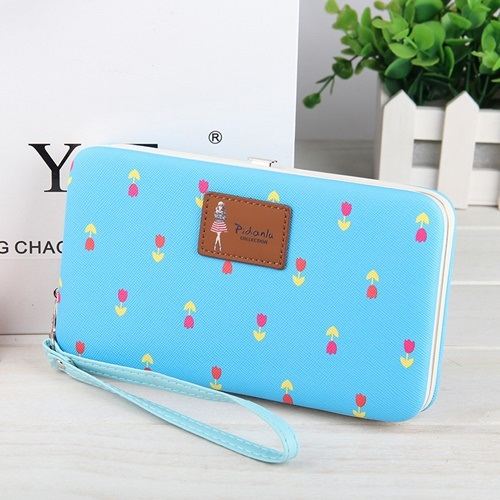 JTF1316 IDR.40.000 MATERIAL PU SIZE L18.5XH10.8XW2.5CM WEIGHT 250GR COLOR BLUE