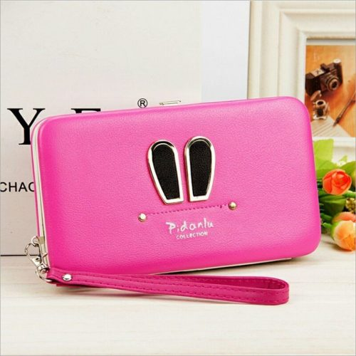 JTF1319 IDR.41.000 MATERIAL PU SIZE L18.5XH10.5XW2.8CM WEIGHT 300GR COLOR ROSE