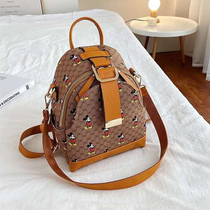 JTF13441 IDR.70.000 MATERIAL PU SIZE L20XH25X10CM WEIGHT 450GR COLOR KHAKIBROWN