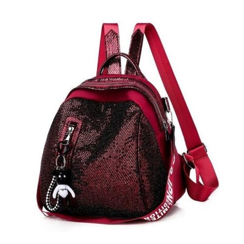 JTF134513 MATERIAL SEQUIN SIZE L26XH26XW19CM WEIGHT 500GR COLOR RED