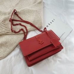 JTF13486-red Tas Selempang Wanita Elegan Import Terbaru