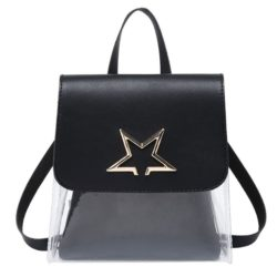 JTF1376-black Tas Ransel Mini Fashion Wanita Cantik