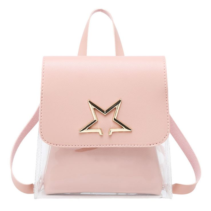JTF1376 IDR.39.000  MATERIAL PU+PVC SIZE L17XH18XW6CM WEIGHT 300GR COLOR PINK