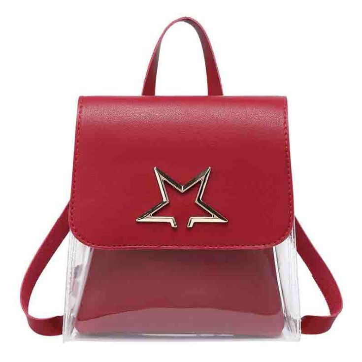 JTF1376 IDR.39.000  MATERIAL PU+PVC SIZE L17XH18XW6CM WEIGHT 300GR COLOR RED