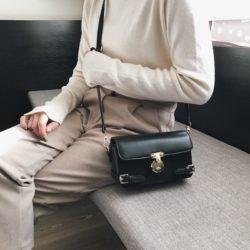 JTF15150-black Tas Selempang Clutch Import Wanita Cantik