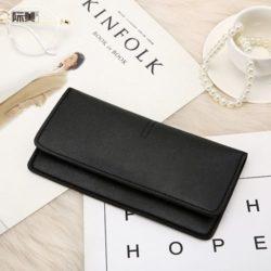 JTF1565B-black Dompet Panjang Fashion Wanita Import