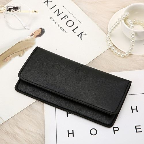 JTF1565B-black Dompet Panjang Fashion Wanita Import