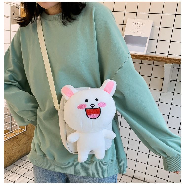 JTF16011 IDR.29.000 MATERIAL COTTON SIZE L15XH19XW7CM WEIGHT 250GR COLOR WHITE