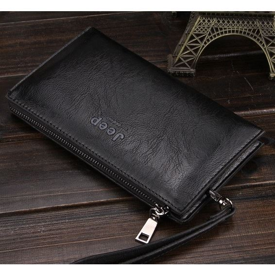 JTF1619 IDR.32.000 MATERIAL PU SIZE L21.5XH12XW2.5CM WEIGHT 200GR COLOR DARKBROWN