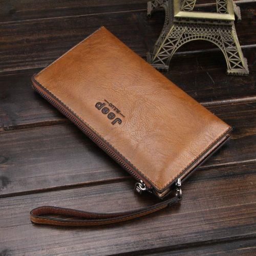 JTF1619-khaki Dompet Panjang Pria JEEP Import Terbaru